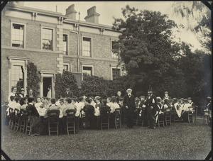 "Tea at ""Walmer"", The Royal Normal College for the Blind, England"