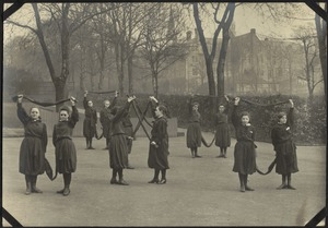 Scarf Drill, The Royal Normal College for the Blind, England