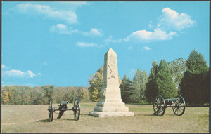 Indiana Monument, Shiloh National Military Park, Shiloh, Tennessee
