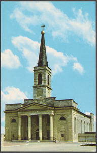 Basilica of St. Louis, King of France (the old cathedral), Third and Walnut Sts., St. Louis, Mo.