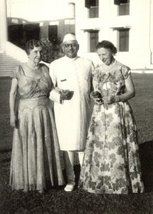 Helen Keller and Polly Thomson in India