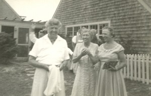 Helen Keller and Eleanor Roosevelt on Martha's Vineyard