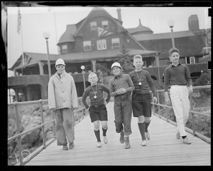 Kids at yacht club, Marblehead