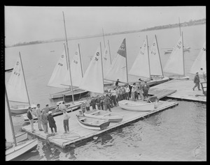 Turnabouts at Squantum Yacht Club