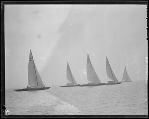 30-square-meter yacht race off Marblehead