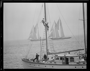 Sailing ships, fishermen's races