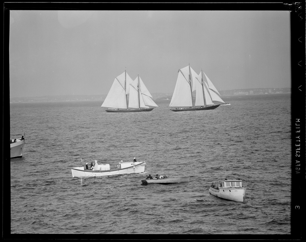 Gloucester fisherman's race Bluenose et al