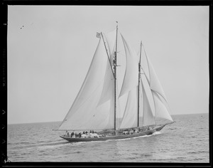 Fishing schooner races, Gloucester
