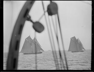 Gloucester fishing schooner races
