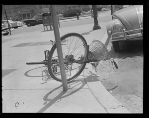 Bike parking is getting to be a problem, too
