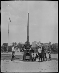 Anti-aircraft gun, Boston Common