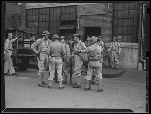 Army seizes munitions plant, S.A. Woods Machine Co. in South Boston