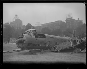 WWII: Enemy aircraft displayed on Boston Common