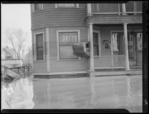 New England flood scenes