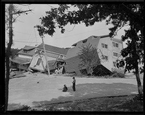 Tumbled houses, Hurricane of 38