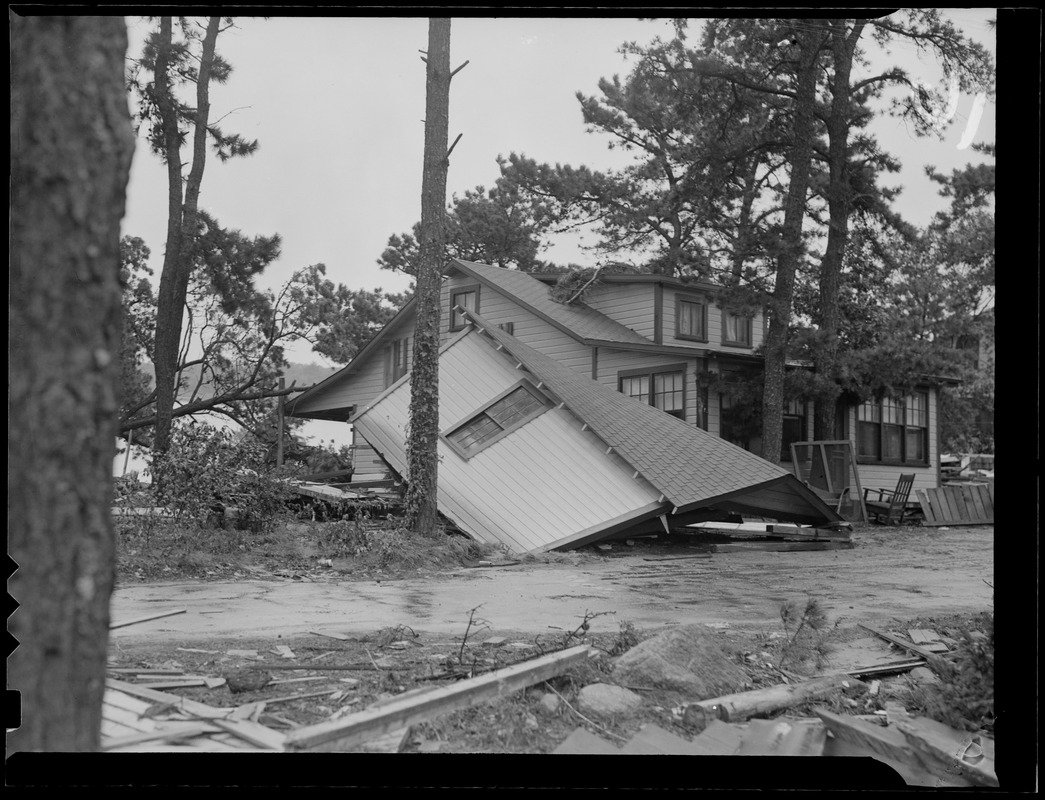 Buildings destroyed, Hurricane of 38