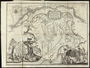 A topographical plan of that part of the Indian-country through which Colonel Bouquet marched in the year, 1764