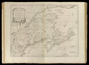 A new map of Nova Scotia, and Cape Britain