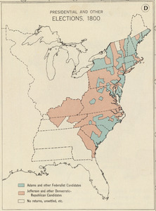 Presidential and other elections, 1800