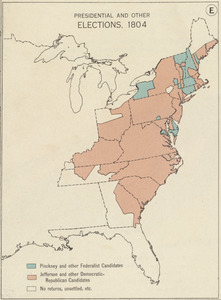 Presidential and other elections, 1804