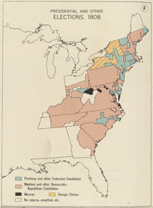 Presidential and other elections, 1808