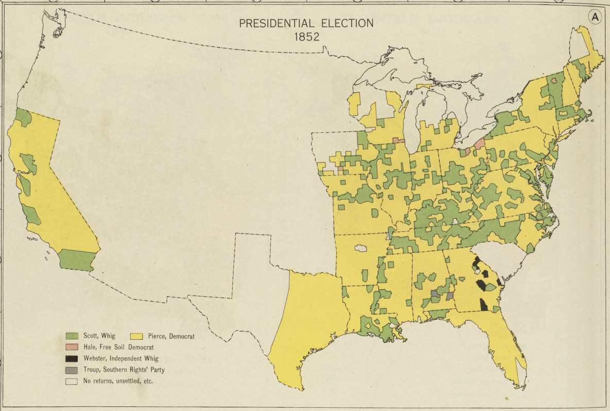 Presidential election 1852