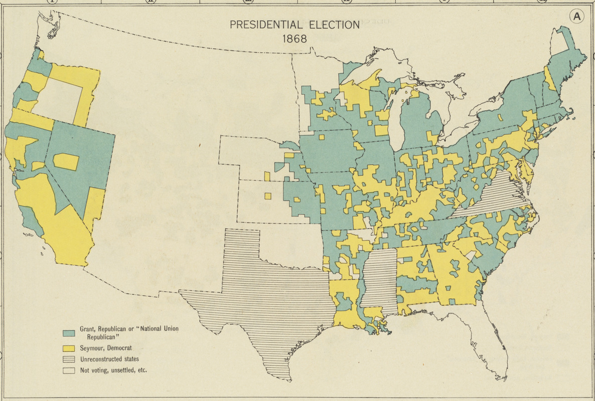 Presidential election 1868