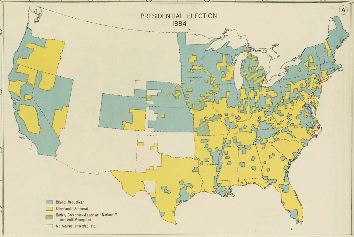 Presidential election 1884