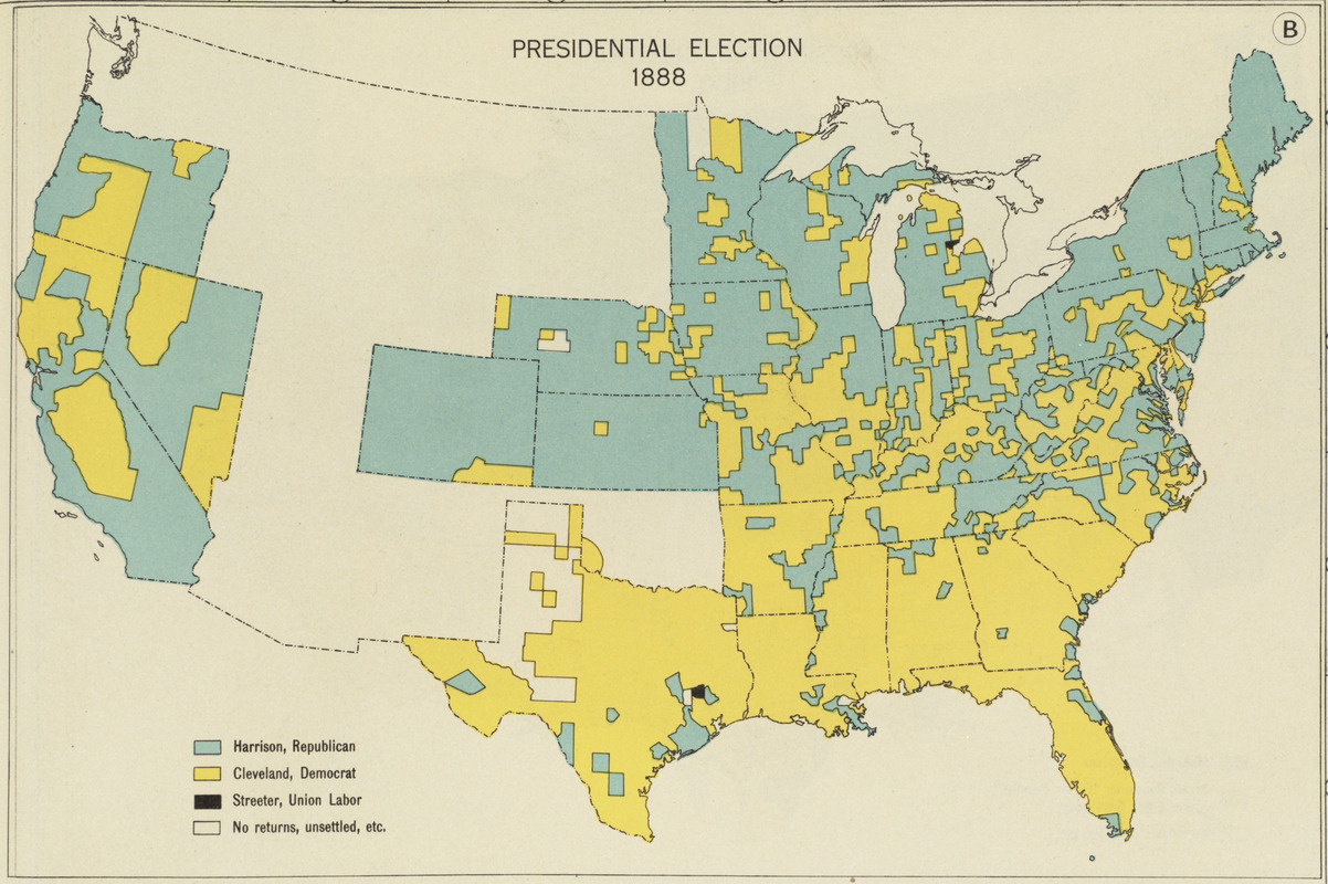Presidential election 1888