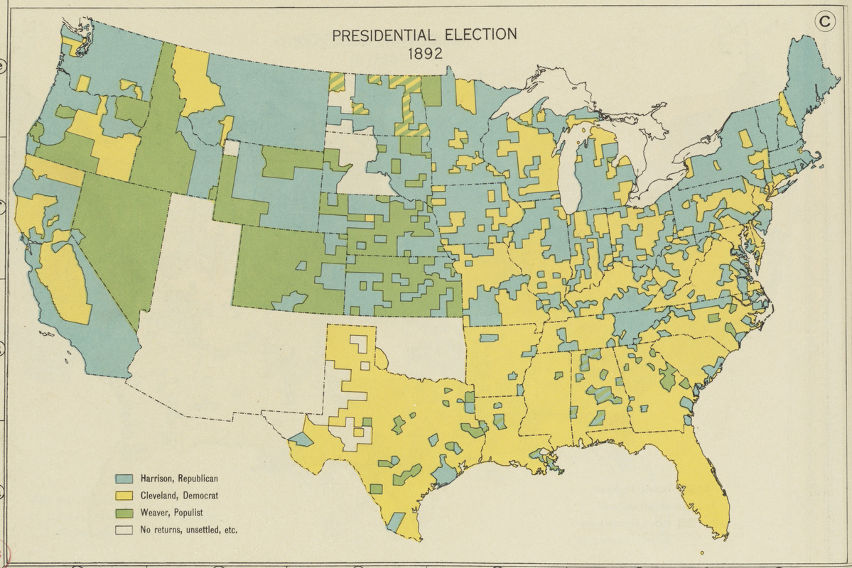 Presidential election 1892