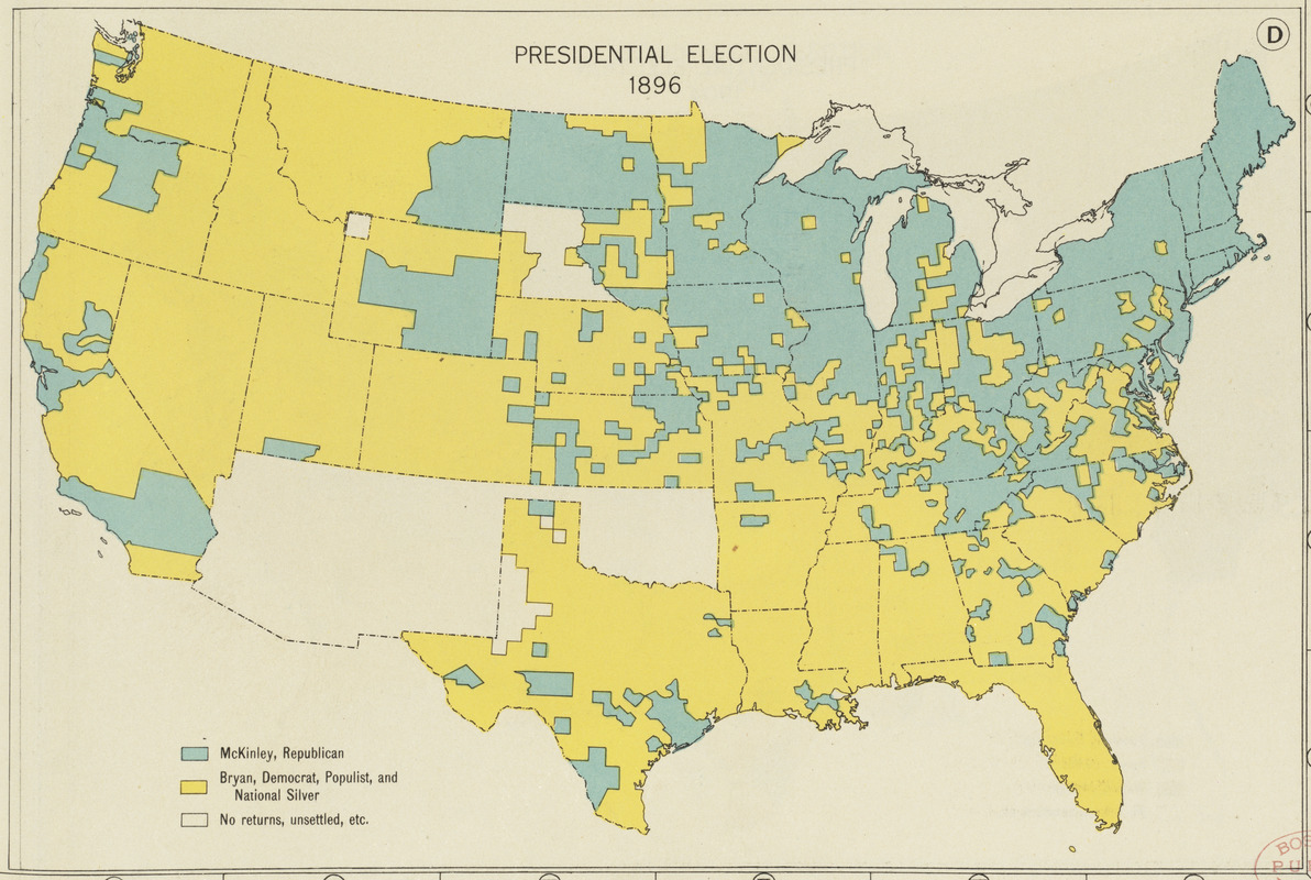 Presidential election 1896