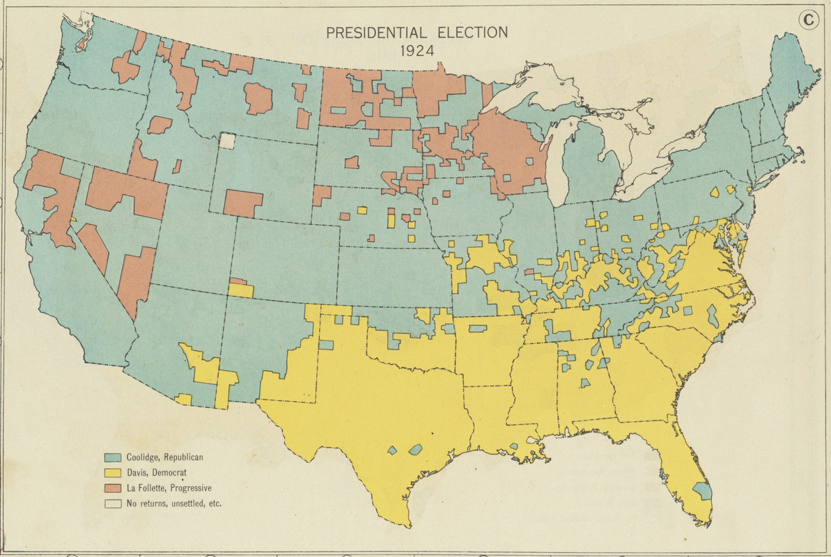 Presidential election 1924