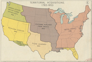 Territorial acqusitions, 1783-1853