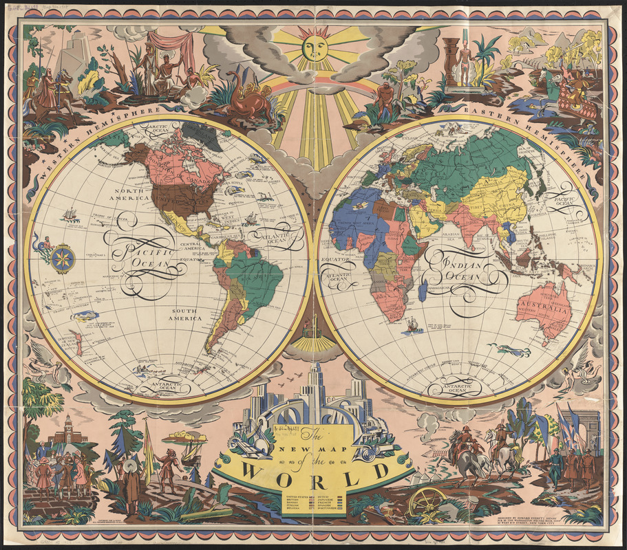 The new map of the world