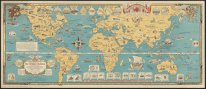 Mercator map of the world united