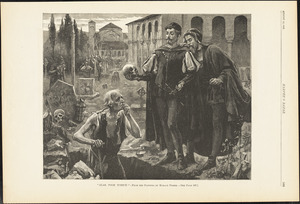 Alas, poor Yorick!--from the painting by Horace Fisher