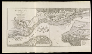 A correct plan of the environs of Quebec, and of the battle fought on the 13th September, 1759