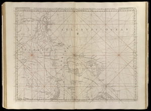 Païs cedés, sheet IId, containing the Peninsula & Gulf of Florida, with the Bahama Islands