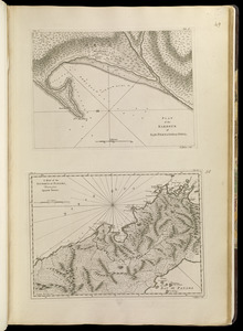 Plan of the harbour of San Fernando de Omoa ; A map of the Isthmus of Panama, drawn from Spanish surveys