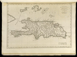 The island of Hispaniola called by the French St. Domingo