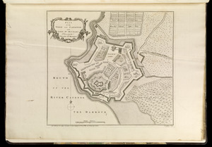 Plan of the town of Cayenne and Fort St. Michael