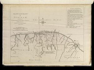The Dutch colony of Surinam, as laid down by L: Colonel Spiering, Chief Engineer at Surinam