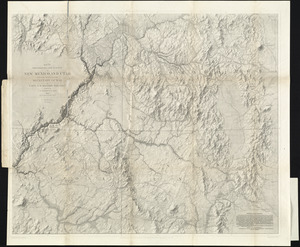 Map of explorations and surveys in New Mexico and Utah made under the direction of the Secretary of War by Capt. J. N. Macomb topl. engrs. assisted by C. H. Dimmock. c. engr. 1860