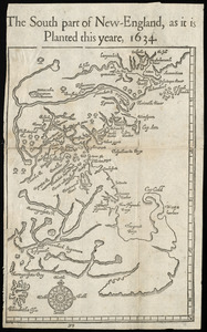 The south part of New England as it planted this yeare, 1634