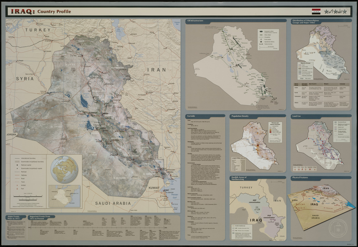 Iraq country profile digital commonwealth iraq country profile gumiabroncs Images