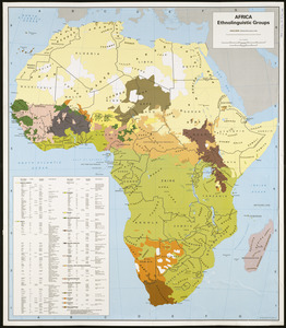 Africa, ethnolinguistic groups