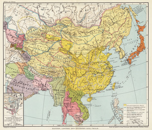 Eastern, Central and Southern Asia, 1760 A.D.