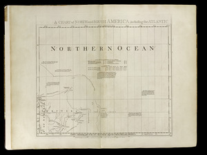 Chart containing part of the Icy Sea with the adjacent coast of Asia and America
