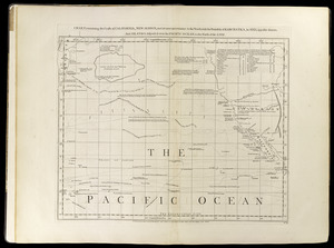 Chart containing the coasts of California, New Albion, and Russian discoveries to the north
