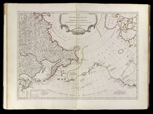A map of the discoveries made by the Russians on the North West coast of America